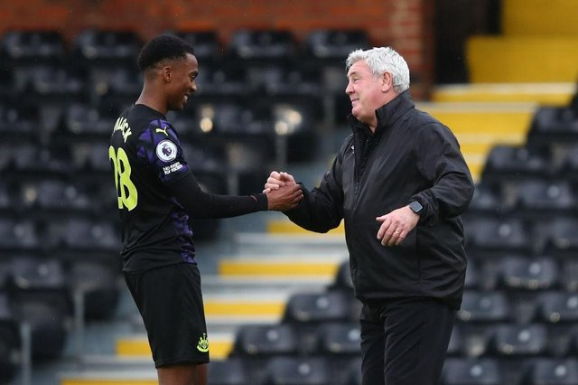 Newcastle United manager Steve Bruce is hoping to bring Joe Willock back to Tyneside.