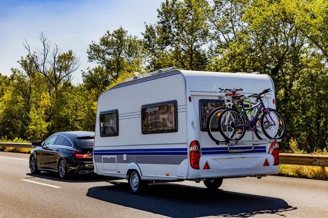 The DVSA is stepping up roadside checks on caravans