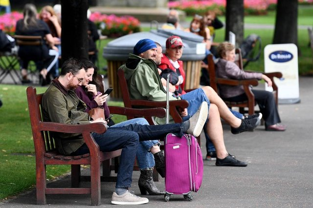 Restrictions around travel and outdoor meetings have been brought forward due to positive data (Photo: Jeff J Mitchell/Getty Images)