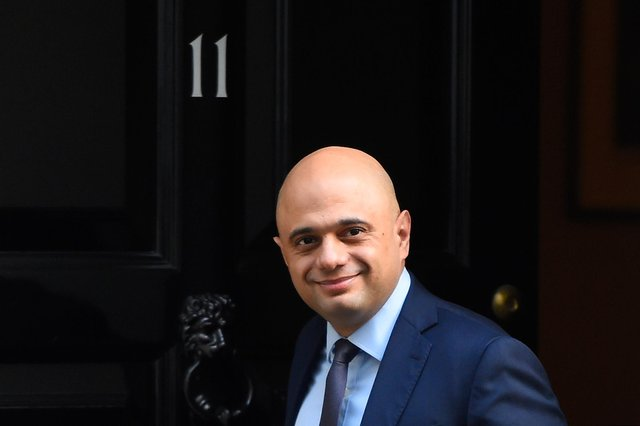 Sajid Javid is due to speak in the Commons to set out changes to self-isolation rules for double-jabbed contacts (Getty Images)