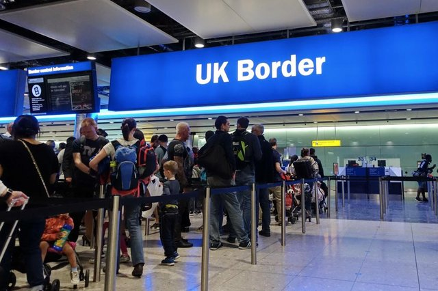 Travellers returning to England from holidays abroad are being warned of travel disruption and long queues at airports when restrictions begin to ease (Photo: Shutterstock)