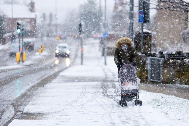 The Met Office has warned no part of the UK will be immune to snowfall by Monday (Photo: Shutterstock)