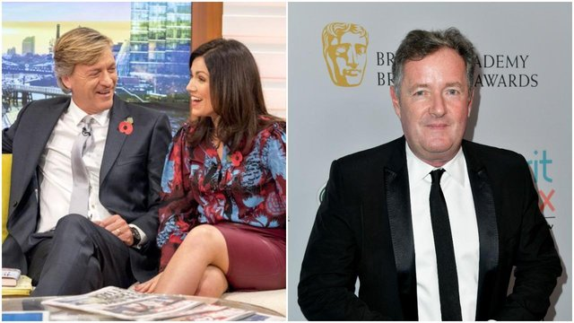 Richard Madeley is the 'favourite' to take Piers Morgan's spot on Good Morning Britain (ITV/Shutterstock/Getty Images)