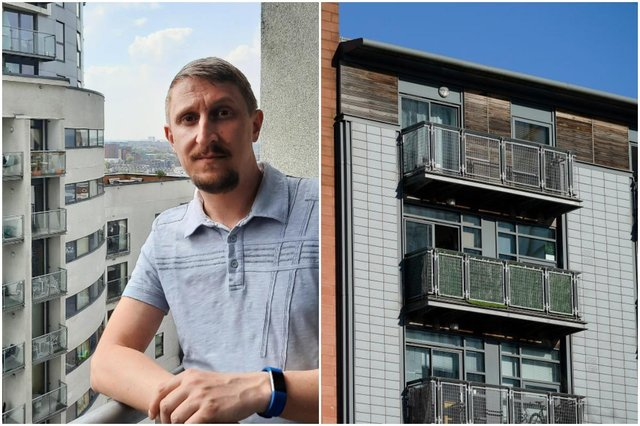 My home's become a death trap': this is the reality for people trapped in properties with dangerous cladding (Photos: Stephen Squires, Christopher Furlong/Getty Images)