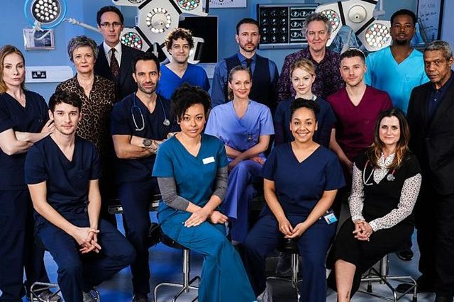 Many actors on Holby City have been on the show for several years and it is not known how much forewarning they received before the announcement was made (Picture: BBC)