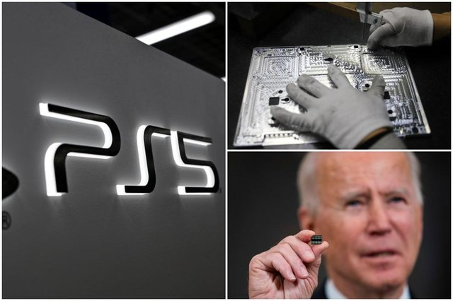 The worldwide chip shortage is impacting a variety of industries, and even Joe Biden has stepped in to try to help get things moving (Photos: Getty Images)