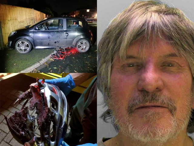 Keith Vernon was over twice the legal drink limit (SWNS)
