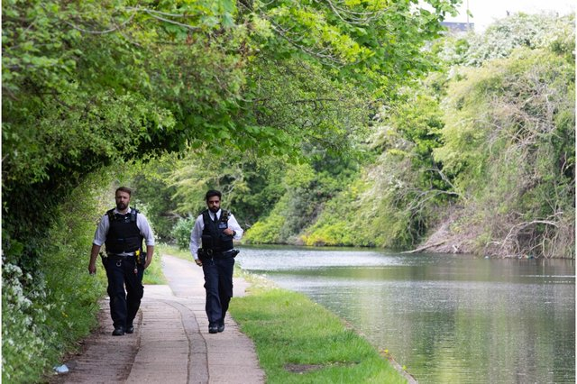 The body of a newborn baby has been found in the Grand Union Canal in north west London, police have said (Photo: Shutterstock)