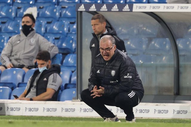 Marcelo Bielsa, manager of Leeds United, is out of contract this summer.