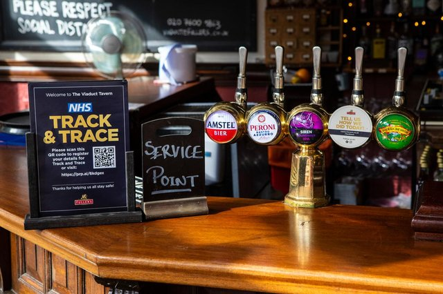 Covid certification will not initially apply for entry to pubs (Photo: Shutterstock)