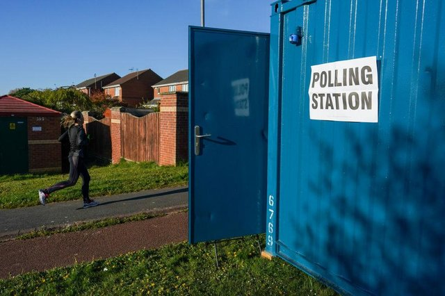 There is a bumper crop of votes on the ballot paper, with many elections postponed from last May because of the Covid-19 pandemic (Photo: Ian Forsyth/Getty Images)