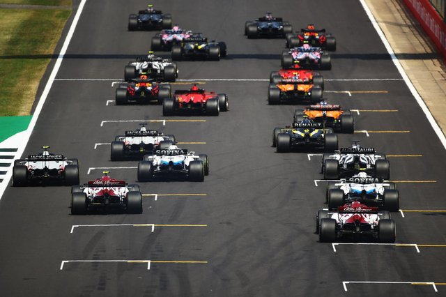 F1 Sprint has been introduced for the first time on the Formula 1 calendar at Silverstone for the 2021 British GP. (Pic: Getty)
