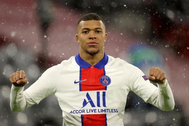 Liverpool-linked sensation Kylian Mbappe could join Real Madrid instead this summer. (Photo by Alexander Hassenstein/Getty Images)