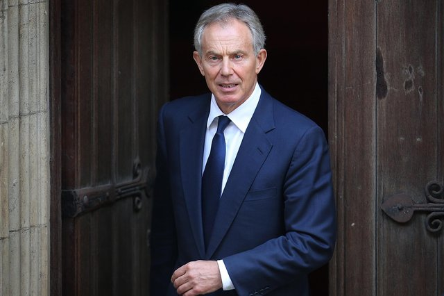 Tony Blair has said it makes no sense at all to treat those who have had vaccination as the same as those who haven't (Getty)