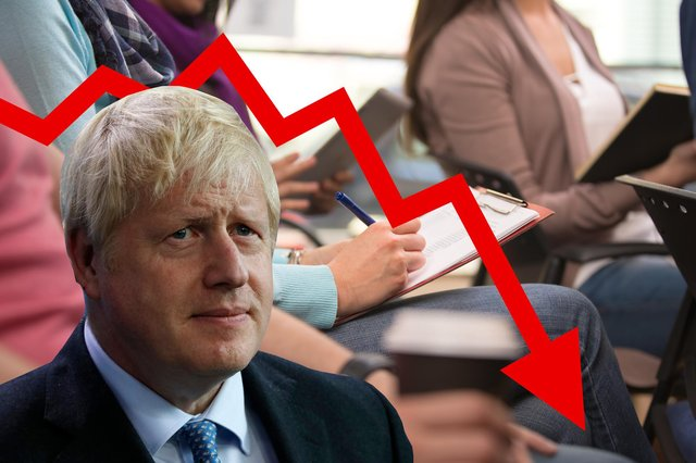 We ask if the Tories put their money where their mouth is, as Boris Johnson hails importance of adult education despite years of spending cuts