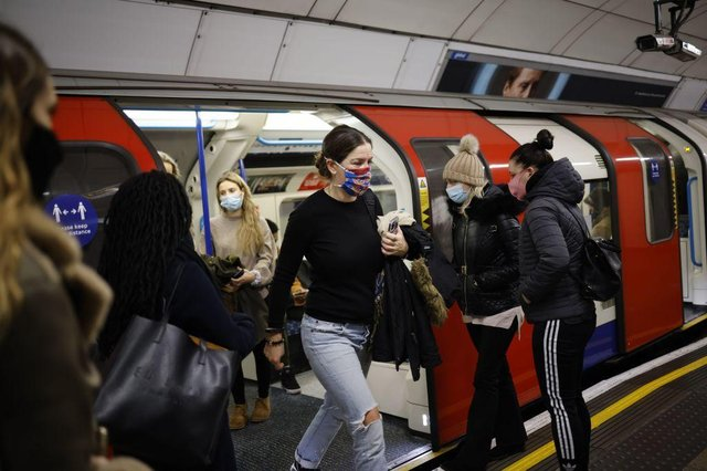 Guidance is expected to recommend face masks be worn in enclosed and crowded indoor spaces, such as public transport (Photo: Getty Images)