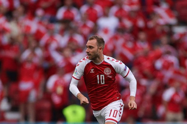 """The Danish FA have said that Eriksen is """"stable"""" and he remains in hospital (Getty Images)"""