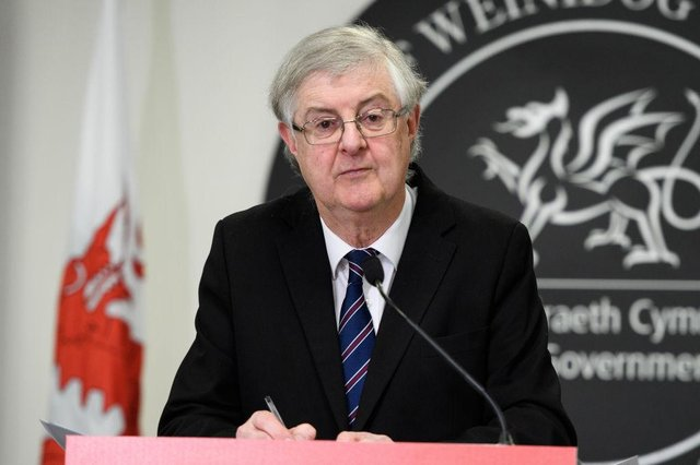 Welsh First Minister Mark Drakeford has mapped out the next two months of coronavirus restricitons, with election campaigning allowed from 12 April (Picture: Getty Images)