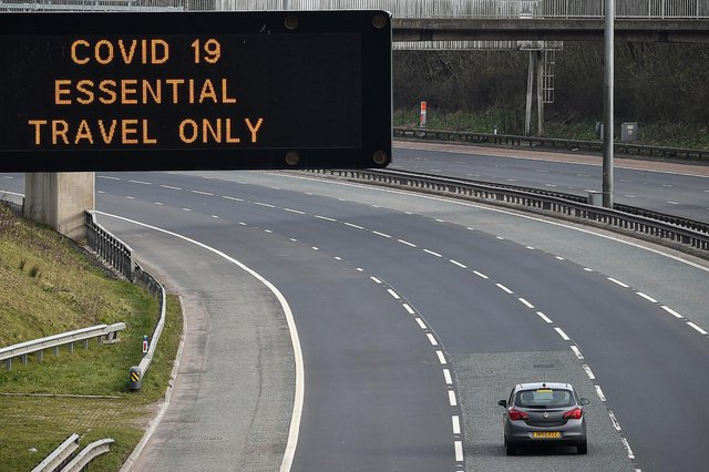 The dates for relaxing domestic travel restrictions vary in England and Scotland (Getty Images)