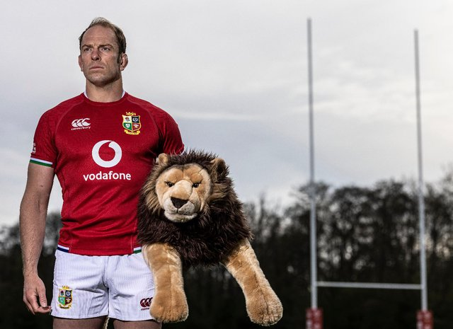 Alun Wyn Jones will captain the British and Irish Lions for the 2021 tour of South Africa. (Pic: Getty)