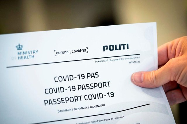 Some countries - like Denmark - used a kind of Covid-19 'passport' last year, to allow travellers to prove they had received a negative test result (Photo: IDA MARIE ODGAARD/Ritzau Scanpix/AFP via Getty Images)