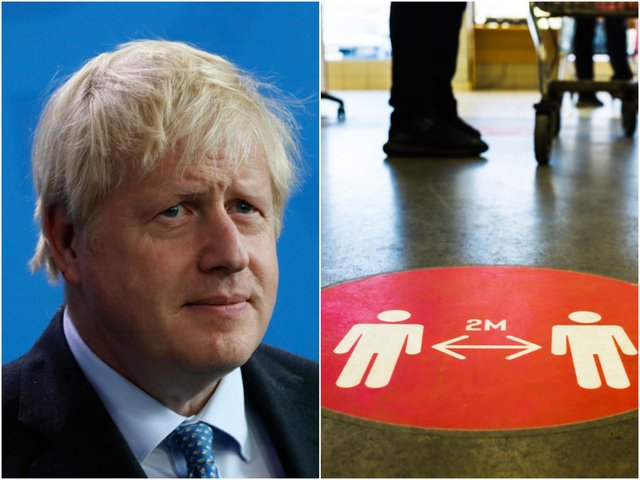 """Prime Minister Boris Johnson said he is """"confident"""" thatno further delayto the lifting of remaining Covid restrictions in England will be necessary, and will come to anend on 19 July (Photo: Shutterstock)"""