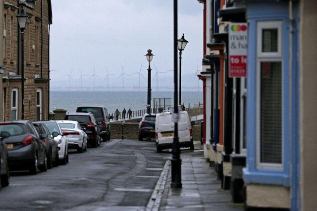 Hartlepool has the highest council tax to property value ratio in the the UK (Photo by LINDSEY PARNABY/AFP via Getty Images)