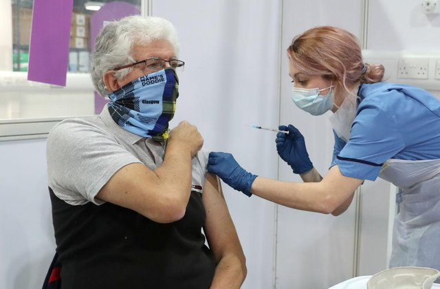 Over 2.8m have received at least once vaccine in Scotland (Getty Images)