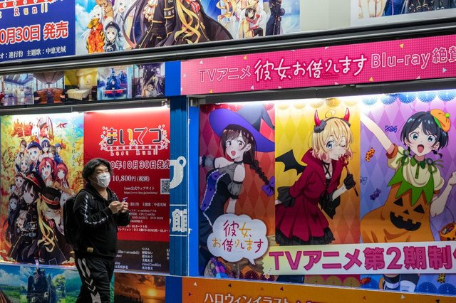 Anime and Manga originated in Japan, but now enjoy a mass following around the world (Picture: Getty Images)