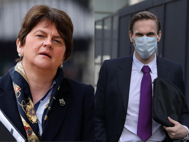 The TV presenter has been ordered to pay damages of £125,000 to Arlene Foster (Getty Images)