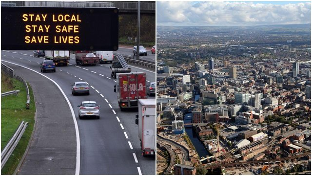 Travel restrictions between Scotland and Manchester have been introduced due to high levels of Covid in the area (Getty Images/Shutterstock)