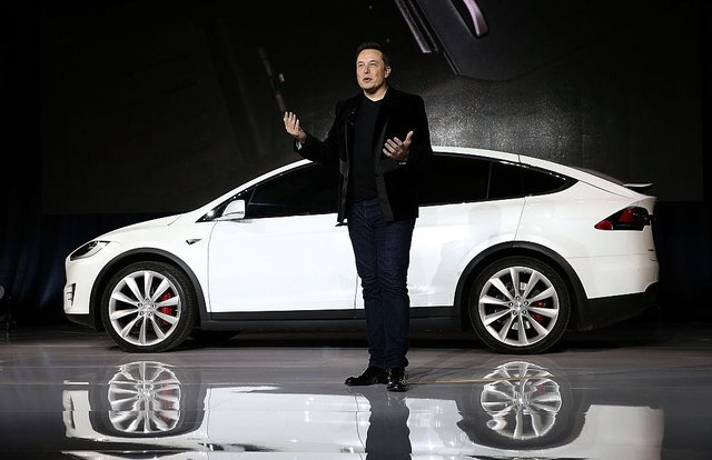 Tesla CEO Elon Musk has announced that his company's electric vehicles will be purchasable via bitcoin, alongside more traditional forms of payment  (Photo by Justin Sullivan/Getty Images)