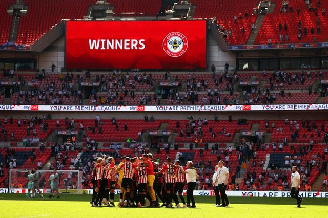 Brentford earned promotion via the Championship playoffs (Getty Images)