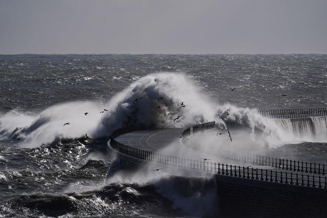 The UK is set to be hit by high winds, cool temperatures and rain (Getty Images)