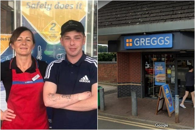 Ellis was foundon the streets of Leedsoutside a Greggs store in a sleeping bag on Kirkstall Road (Photos: Yorkshire Evening Post/JPI Media/Google)