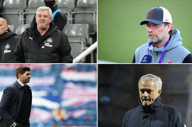 Steve Bruce, Jurgen Klopp, Steven Gerrard and Jose Mourinho have spoken on the subject of social media abuse.