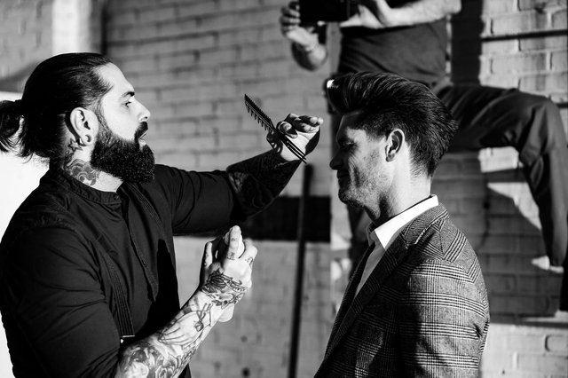 Tom Chapman recognised that barbers industry are often trusted confidants (Photo: Team Peter Stigter)
