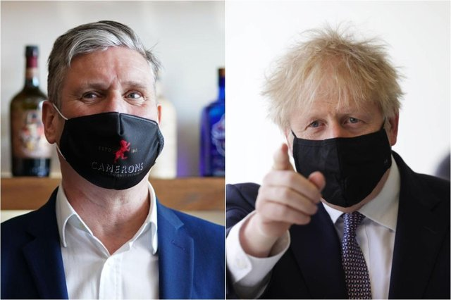 Boris Johnson vs Keir Starmer polls: latest opinion polls on party leaders ahead of 2021 local elections (Photo by Dan Kitwood - WPA Pool/Getty Images & Ian Forsyth - WPA Pool /Getty Images)