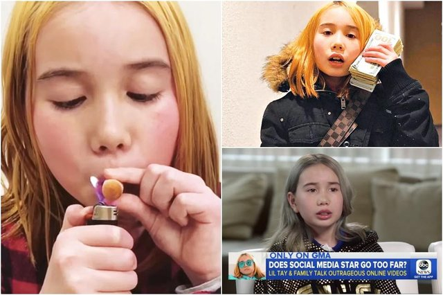 Lil Tay hasn't been seen for a while, and a new Instagram post has fans worried (Photos: Various)