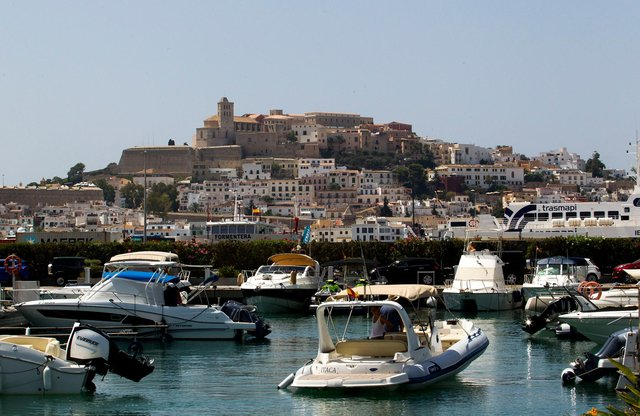 Countries including Ibiza will be put on the amber list as of 19 July (AFP via Getty Images)