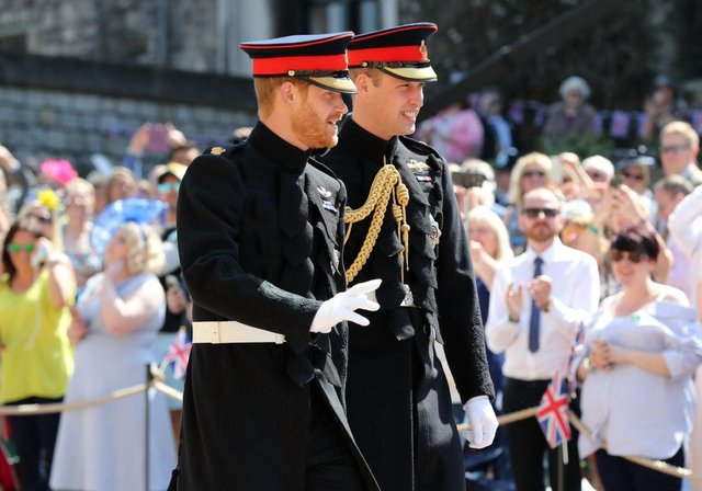 Members of the royal family will not be wearing military uniform at the Duke of Edinburgh's funeral (Photo: Gareth Fuller - WPA Pool/Getty Images)