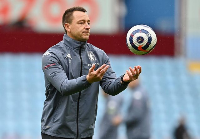John Terry, Assistant Head Coach of Aston Villa. (Photo by Clive Mason/Getty Images)