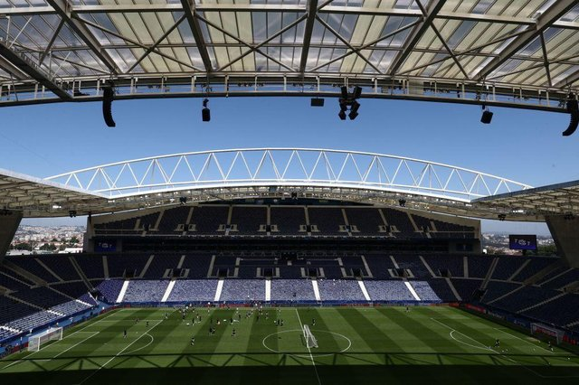 The Dragao stadium hosts the 2021 UEFA Champions League final (Getty Images)
