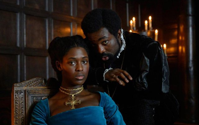 Jodie Turner-Smith takes on the title role of Anne Boleyn (Channel 5)