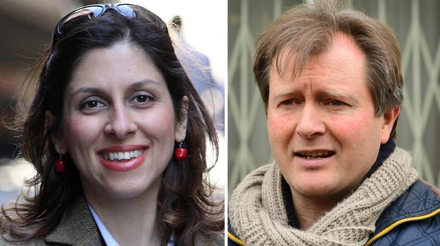 Nazanin Zaghari-Ratcliffe's fresh jail term is a signal that Iran will detain her until the UK resolves a long-running debt dispute with Tehran, her husband Richard has said (right)(PA).