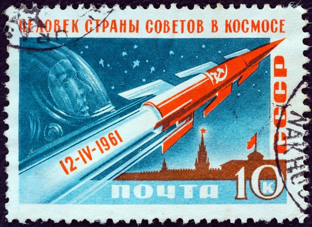 Many countries around the world celebrated the Russian's successes, but Gargarin became a national hero in his home country after the space flight (Image: Shutterstock)