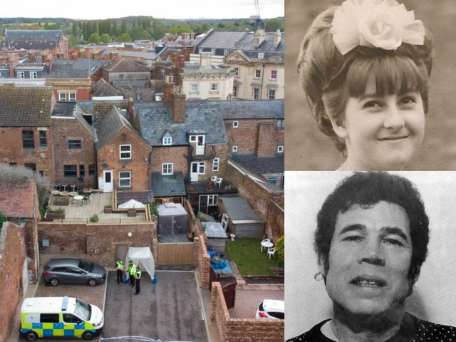 Police hunting for missing teenager Mary Bastholm – long suspected of being a victim of serial killer Fred West – have not found any human remains while excavating a cafe in Gloucester (Getty Images/Bastholm family)