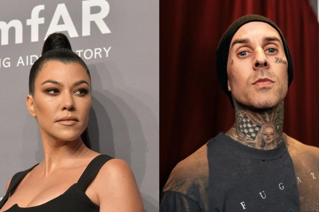 Barker and the eldest Kardashian have lived in the same neighbourhood and known each other for several years (Picture: Getty Images)