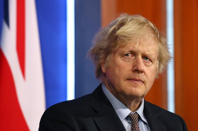 Prime Minister Boris Johnson warned people not to meet up indoors