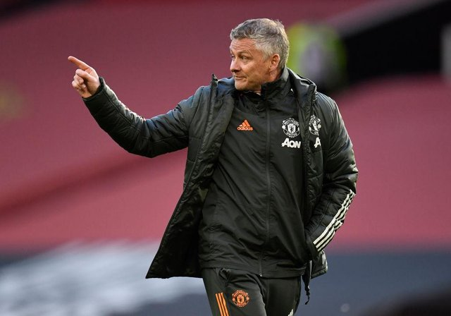 Ole Gunnar Solskjaer, Manager of Manchester United.  (Photo by Peter Powell - Pool/Getty Images)